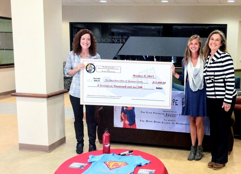 'Superheroes' raise $17K for Open Door Clinic through Great Cape Escape