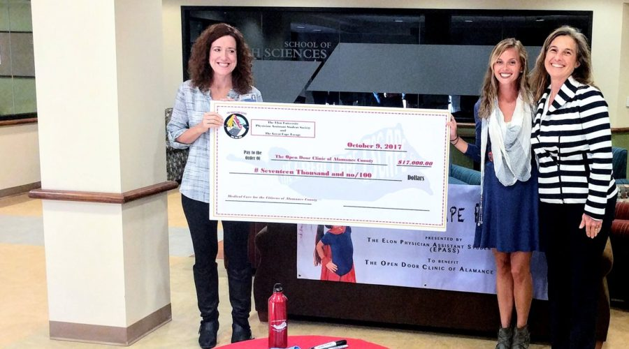 'Superheroes' raise $17K for Open Door Clinic through Great Cape Escape
